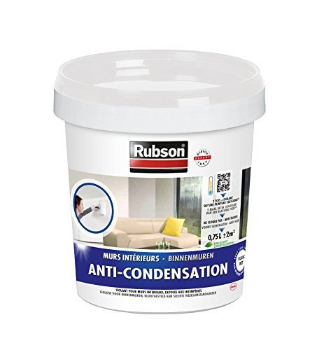 Rubson 1383397 anti condensation pot plastique blanc for Peinture anti condensation