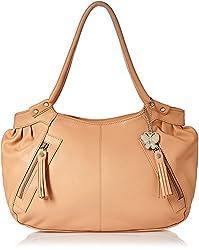 Butterflies Trendy Women's Handbag (Peach) (BNS 0226 PCH)