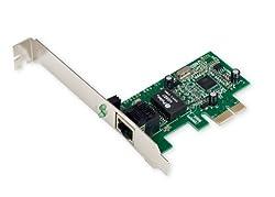 Syba I/O Crest PCI-Express Gigabit Ethernet Controller Card VT6130 Chipset