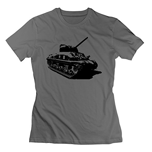 EnHui Women Tank Pre-cotton Tee-shirt M DeepHeather (Hoover Twin Tank Steam compare prices)