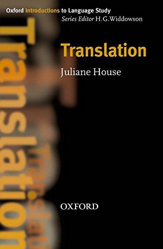 Translation (Oxford Introduction to Language Study Series)