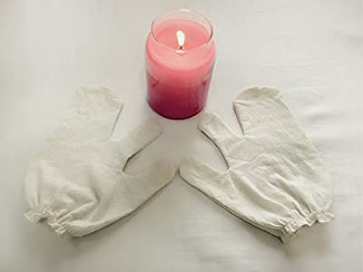 Garshana Gloves, Raw Silk Ayurvedic Dry Massage Gloves
