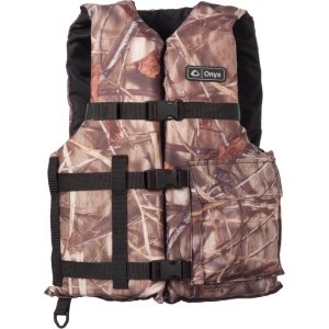 Onyx 3880-0345 Max-4 Large/Xxx-Large 2-Buckle Fishing Vest front-847723