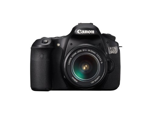 Canon EOS 60D Digital SLR Camera including EF-S 18-55 mm f/3.5-5.6 IS II Lens Kit