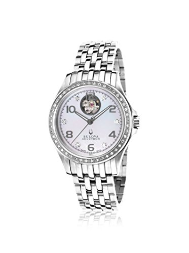 Accutron by Bulova Women's 63R117 Masella Silver/White Stainless Steel Watch
