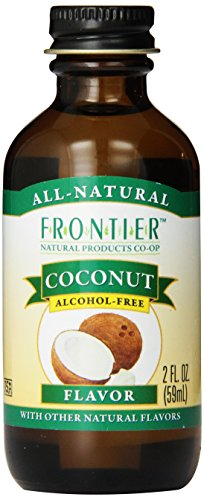 Frontier Coconut Flavor, 2-Ounce Bottle front-637905