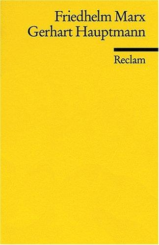 Gerhart Hauptmann: (Literaturstudium)