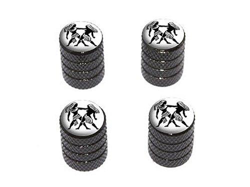 gemini-zodiac-horoscope-tire-rim-wheel-valve-stem-caps-black