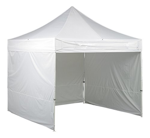 Instant Shelters With Side Walls : E z up es s instant shelter canopy by white