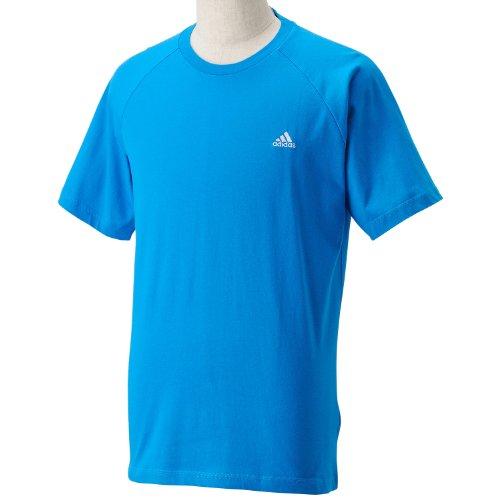 (アディダス)adidas ESS ショートスリーブTシャツ SW001 D89820 ソーラーブルー S14 J/L