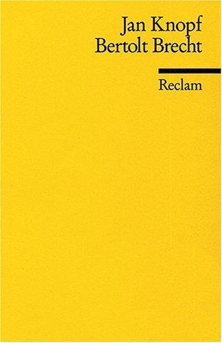Bertholt Brecht: (Literaturstudium)
