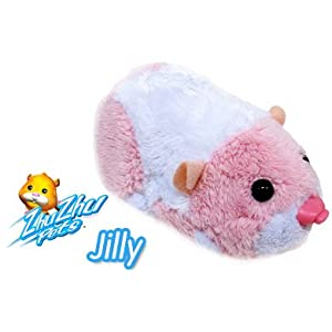 Zhu Zhu Pets Jilly Pink and White Hamster