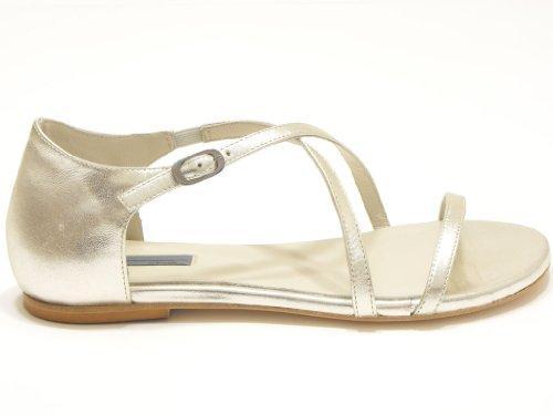 Vic matiè sandalo basso argento