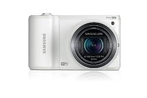 """Samsung WB30F Appareil photo numérique Ecran 3"""" (7,6 cm) 16,2 Mpix Zoom optique 10 x WiFi USB - Blanc"""