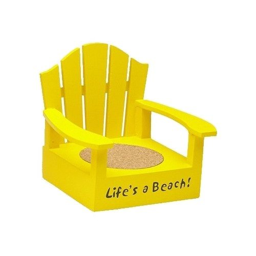 Adirondack Life's a Beach Yellow Coaster ChairAdirondack Life's a Beach Yellow Coaster Chair