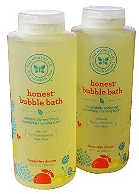 The Honest Company Bubble Bath Pack of 2 (12 Fluid Ounces)