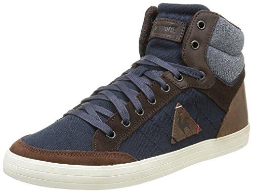 Le Coq Sportif Portalet Mid Craft Hvy B, Sneakers Alti Uomo, Blu (Dress Blue/Mustang), 42 EU