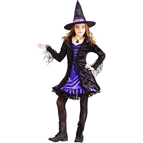 Lace Witch Kids Costume