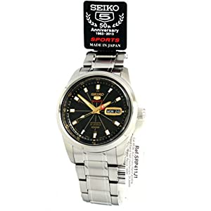 Seiko Men JAPAN 5 SPORTS 4R36 Sport SRP411 SRP411J1