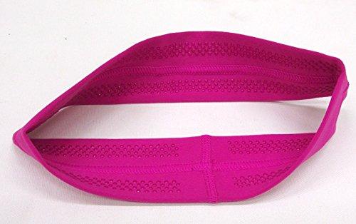 RAVEbandz Fashion Headbands (AZALEA) - Non-Slip Silicone Lined Sports & Fitness Hair Bands for Women and Girls