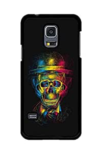 Caseque Monkey Boss Skull Back Shell Case Cover For Samsung Galaxy S5 Mini