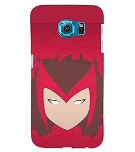 TOUCHNER (TN) Super Woman Back Case Cover for Samsung Galaxy S6 Edge::Samsung Galaxy Edge G925