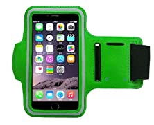 buy Iphone 6 6S Plus Armband: Reding Sports Running & Exercise Gym Sportband (5.5-Inch)| Also Fits Galaxy S6/S5, Note 4 + Water Resistant + Sweat Proof + Key Holder + Headphone Ports