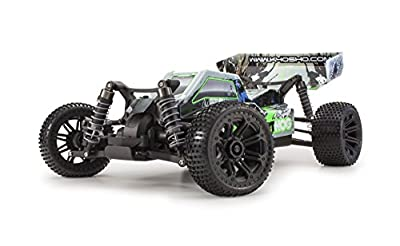 Kyosho Dirt Hog Ready-to-Run RC 4WD Buggy Car with Team Orion Battery and Charger, Green