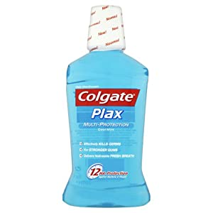 Colgate Plax Multi Protection Cool Mint Mouth Wash Clinically Tested By Destists 500ml