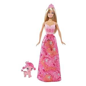 Amazon.com: Brand New Barbie Princess & Pet Poodle Dog
