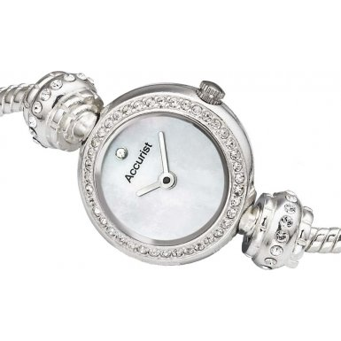 Accurist Charmed by Accurist LB1402 Ladies Charmed Watch Crystal Row