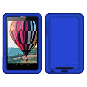 Bobj Rugged Case for Nexus 7 Tablet - BobjGear protective cover - Batfish Blue