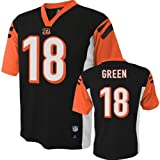 A.J. Green Cincinnati Bengals #18 NFL Youth Black Jersey (Youth Large 14/16)