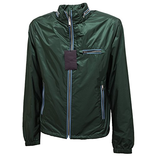 1327Q giubbotto PRADA verde giubbotto uomo jacket men [48]