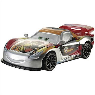 Disney Pixar Cars - 1:55 Scale Diecast Silver Racer Series - Miguel Camino