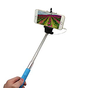cable selfie stick coverluck self portrait extendable self time self pod with remote. Black Bedroom Furniture Sets. Home Design Ideas