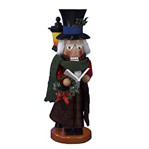 "Kurt Adler 18-Inch Limited Edition Steinbach Dickens Townsfolk ""The Caroler"" Nutcracker by Steinbach Nutcrackers"