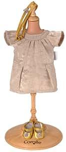 Corolle - Y7408 - Vêtement Poupée 36cm - Mademoiselle Corolle - Robe de Fêtes & Chaussures