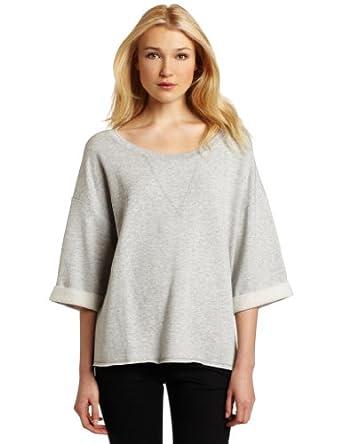 (1.7折)美国产Nation Ltd Women's Tuscany Sweatshirt 女士休闲衫 $17.68