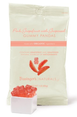Bissinger's Pink Grapefruit Gummy Pandas by