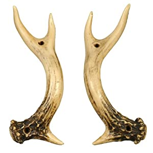 Antler Door Handles Set Of 2 Amazon Co Uk Kitchen Amp Home