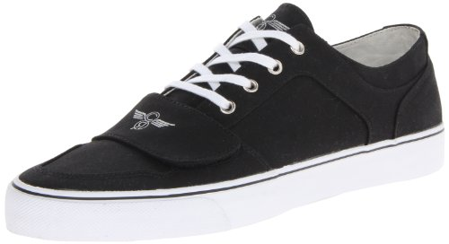 Creative Recreation Men's Cesario Lo XVI Sneaker, Black, 7.5 M US