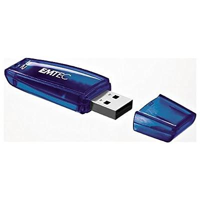 Emtec Color Mix 32gb USB 2.0 Flash Drive ( Blue)