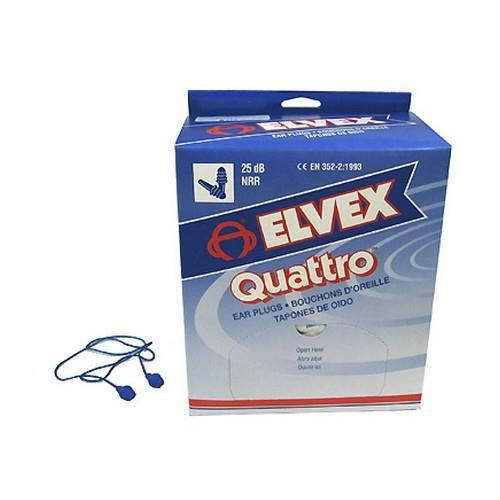 Elvex Quattro Corded Earplug