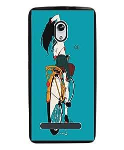 Techno Gadgets Back Cover for Micromax Canvas Evok E483