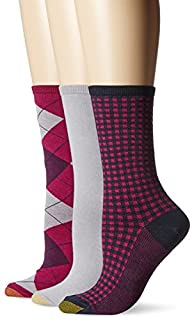 Gold Toe Women's Argyle Extended Size…