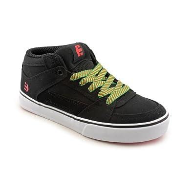 etnies Men's RVM Skate Shoe - Black-Yellow-Suede