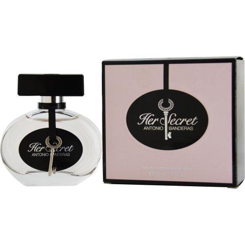 Antonio Banderas, Her Secret, Eau de Toilette spray da donna, 50 ml