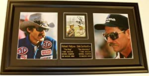 Dale Earnhardt Sr. and Richard Petty Autographed Hand Signed Photo - Deluxe Custom... by Real Deal Memorabilia