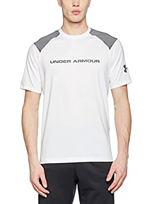 Under Armour Camiseta Manga Corta Ua Scope Ventilated Ss T (Blanco)